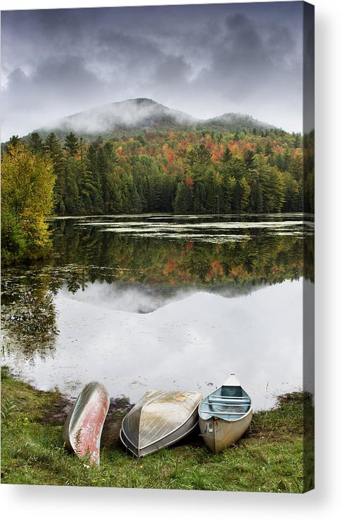 Adirondack Acrylic Print featuring the photograph Flavor Of The Adirondacks by Brendan Reals