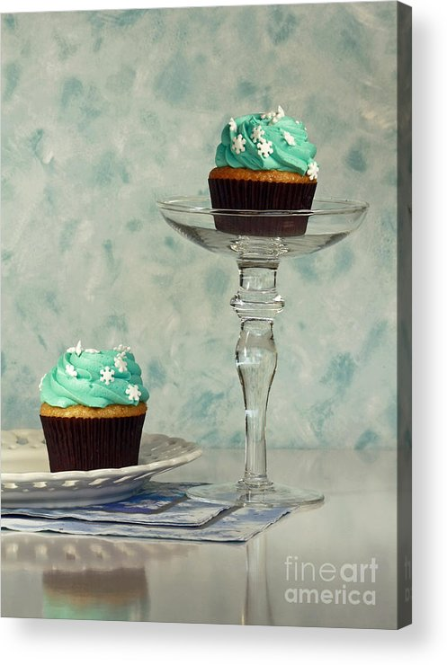 Cupcake Frenzy Acrylic Print featuring the photograph Cupcake Frenzy by Inspired Nature Photography Fine Art Photography