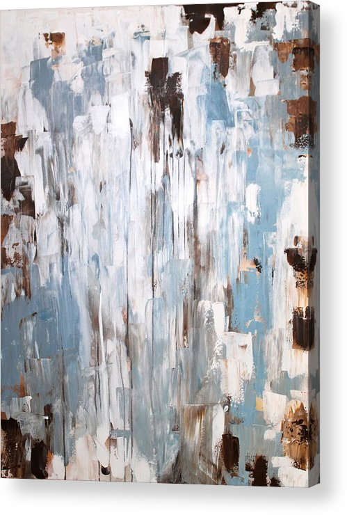Original Acrylic Print featuring the painting Elemental by Eric Chapman