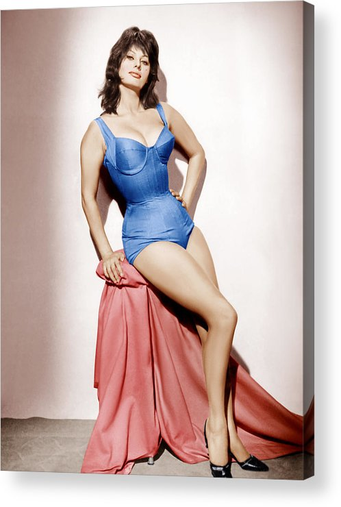 1960 Movies Acrylic Print featuring the photograph It Started In Naples, Sophia Loren, 1960 by Everett
