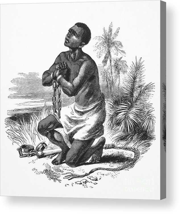 19th Century Acrylic Print featuring the photograph Slavery: Abolition by Granger