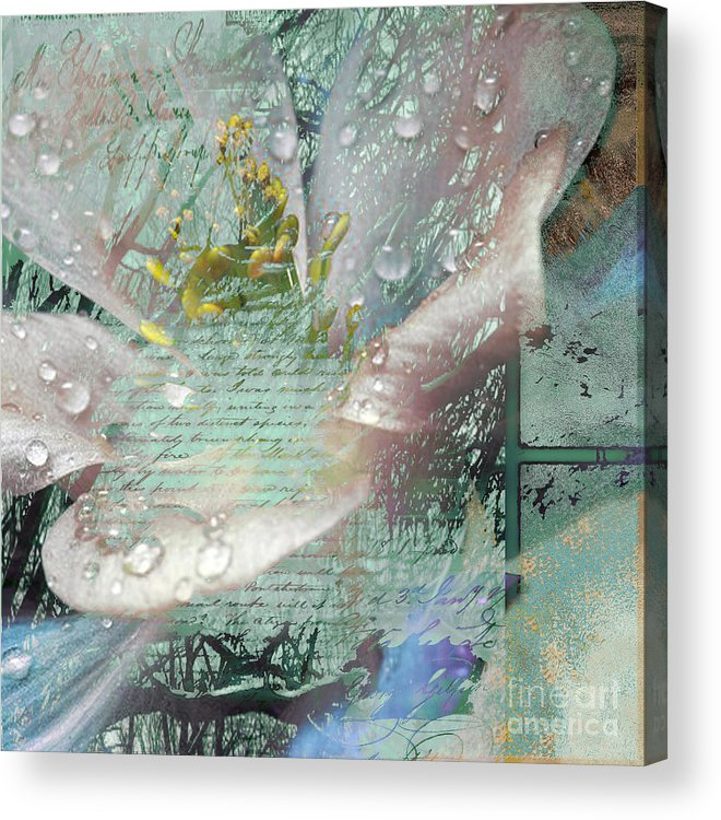 Acrylic Print featuring the mixed media Pop V by Yanni Theodorou