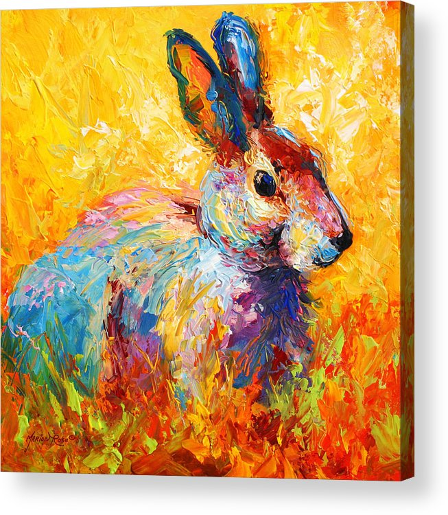 rabbit paintings acrylic prints and rabbit paintings acrylic for sale. Black Bedroom Furniture Sets. Home Design Ideas