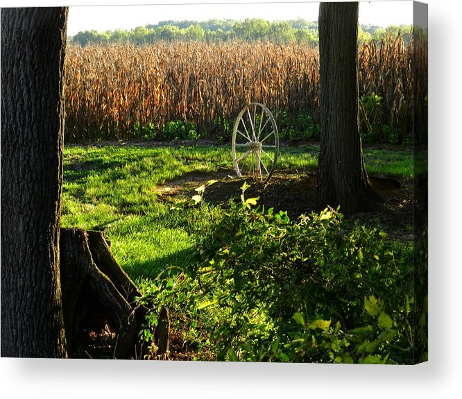 Rural Scenes Acrylic Print featuring the photograph Bruce's Place by Julie Dant