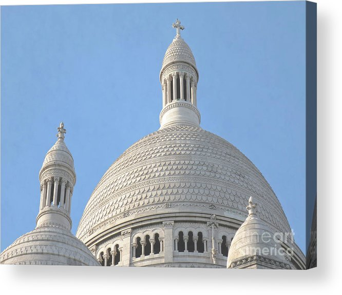 Paris Acrylic Print featuring the photograph Dome Of Sacre-coeur by Ann Horn