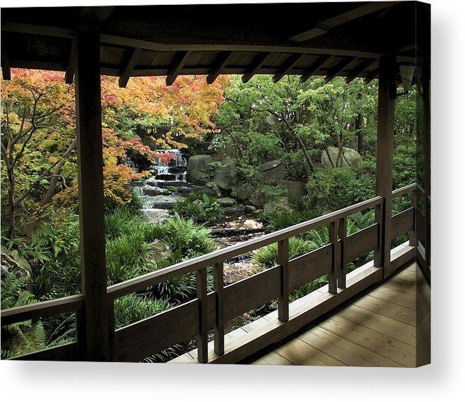 Japan Acrylic Print featuring the photograph Kokoen Garden - Himeji City Japan by Daniel Hagerman