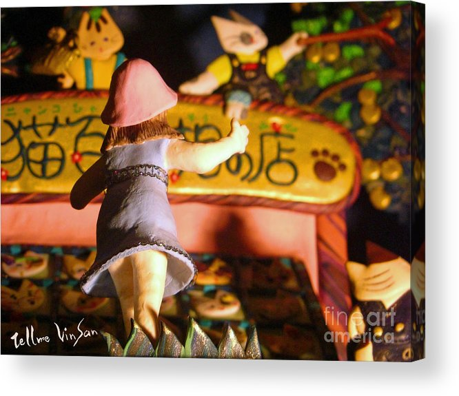 Historical Acrylic Print featuring the painting Light Museum Book 2 by Terumi Wago