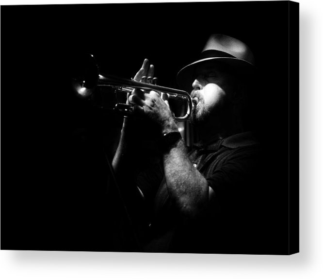 Jazz Acrylic Print featuring the photograph New Orleans Jazz by Brenda Bryant