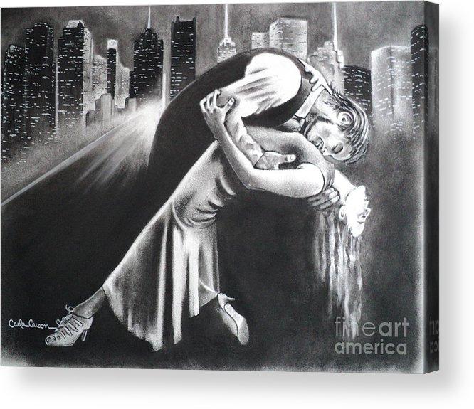 True Romance Acrylic Print by Carla Carson