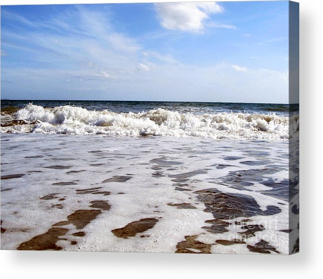 Waves Acrylic Print featuring the photograph Waves by Ramona Matei