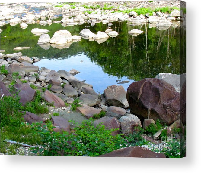 Reflection Acrylic Print featuring the photograph Beyond The Potholes by Randi Shenkman