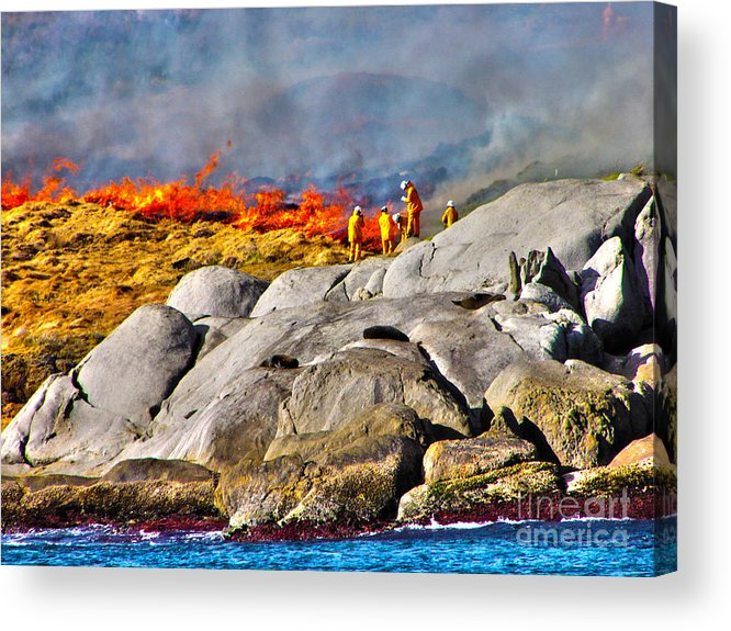 Fire Acrylic Print featuring the photograph Elements by Joanne Kocwin