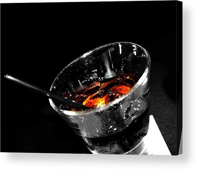 Elm Acrylic Print featuring the photograph Rye And Coke Please by JC Photography and Art