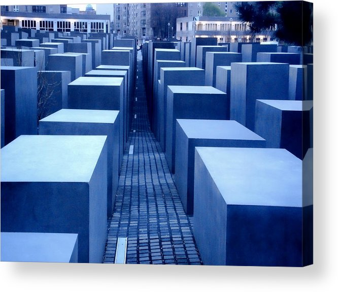 Berlin Acrylic Print featuring the photograph Silence by Roberto Alamino