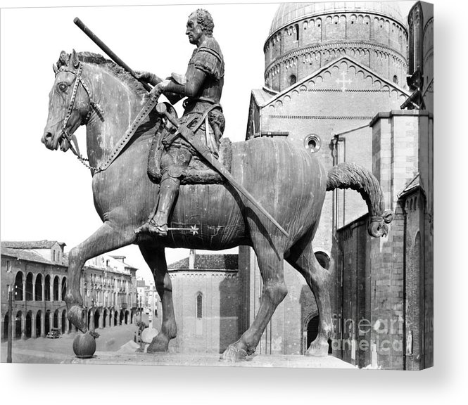 15th Century Acrylic Print featuring the photograph Gattamelata (1370-1443) by Granger