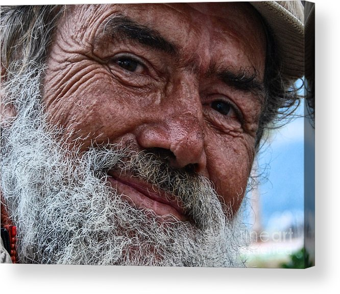 Homeless Acrylic Print featuring the photograph The Smile Of Life by Erhan OZBIYIK