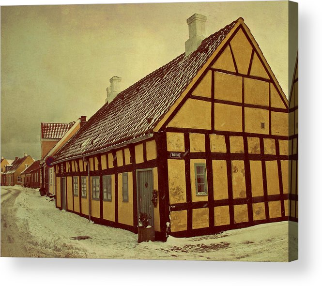 Town Acrylic Print featuring the photograph Old Town by Odd Jeppesen