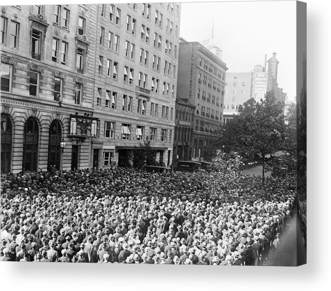 1925 Acrylic Print featuring the photograph World Series, 1925 by Granger