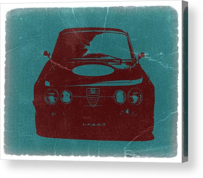 Alfa Romeo Gtv Acrylic Print featuring the photograph Alfa Romeo Gtv by Naxart Studio