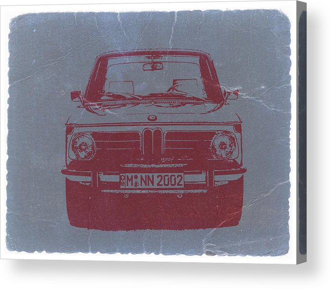Bmw 2002 Acrylic Print featuring the photograph Bmw 2002 by Naxart Studio