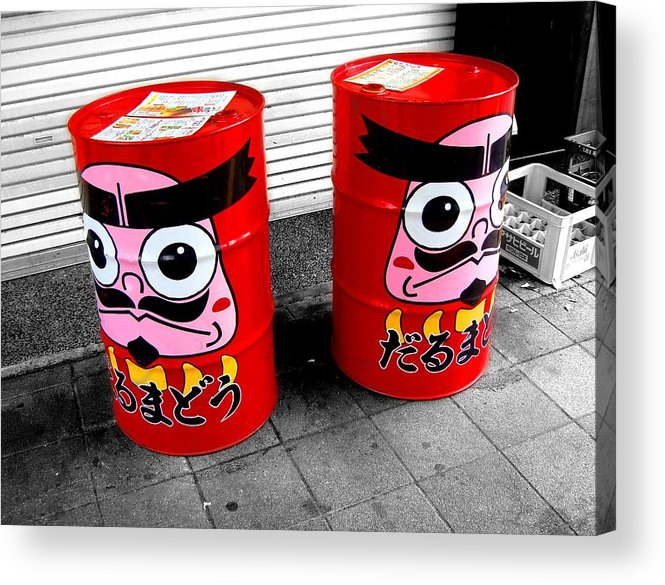 Daruma Acrylic Print featuring the photograph Sentinels by Roberto Alamino