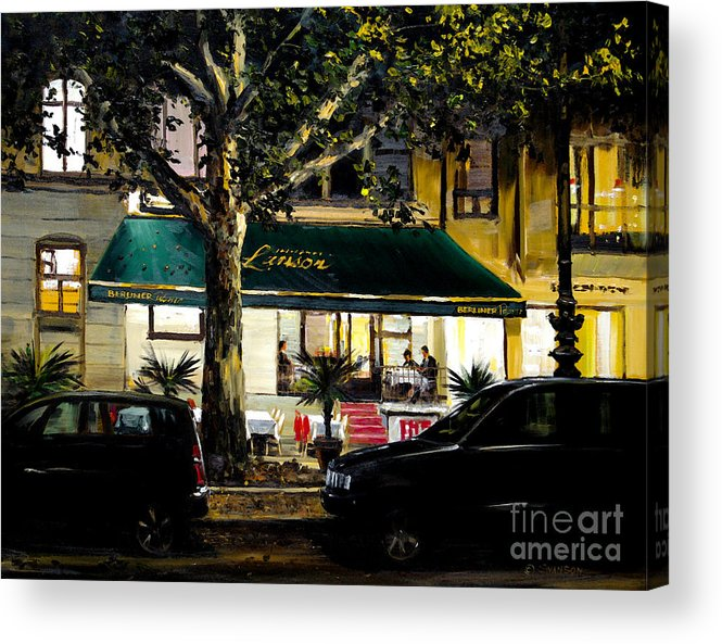 Berliner Pilsner Acrylic Print featuring the painting Berliner Pilsner by Michael Swanson
