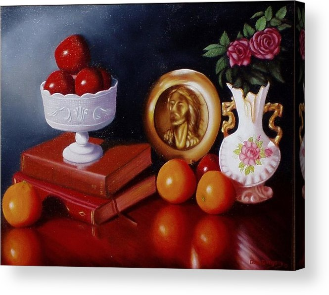 Still Life Acrylic Print featuring the painting Bravo by Gene Gregory