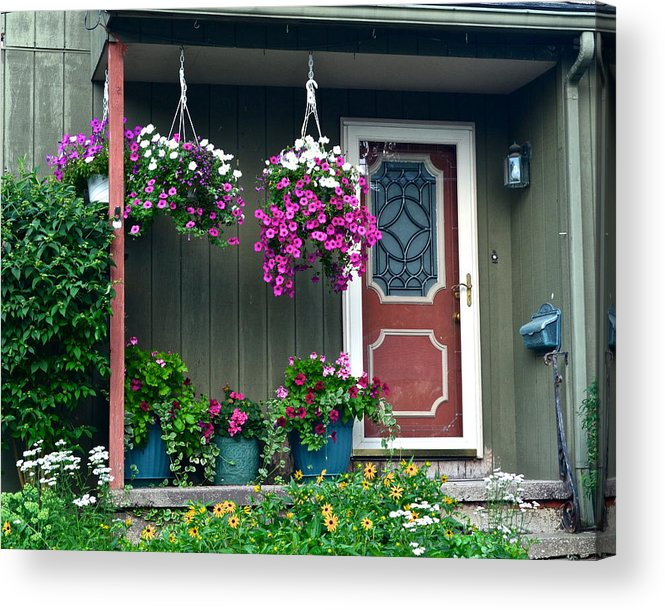 Home Acrylic Print featuring the photograph Home Sweet Home by Frozen in Time Fine Art Photography