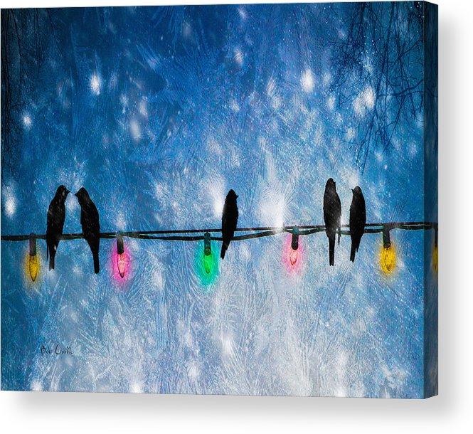 Christmas Lights Acrylic Print featuring the photograph Christmas Lights by Bob Orsillo