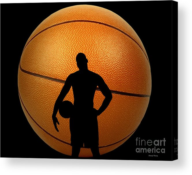 Hoop Acrylic Print featuring the photograph Hoop Dreams by Cheryl Young