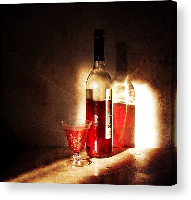 still Life Acrylic Print featuring the photograph Morning And Night by Deborah Smith
