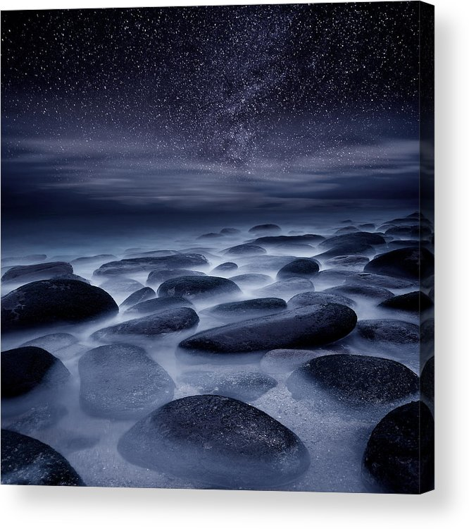 Night Acrylic Print featuring the photograph Beyond Our Imagination by Jorge Maia