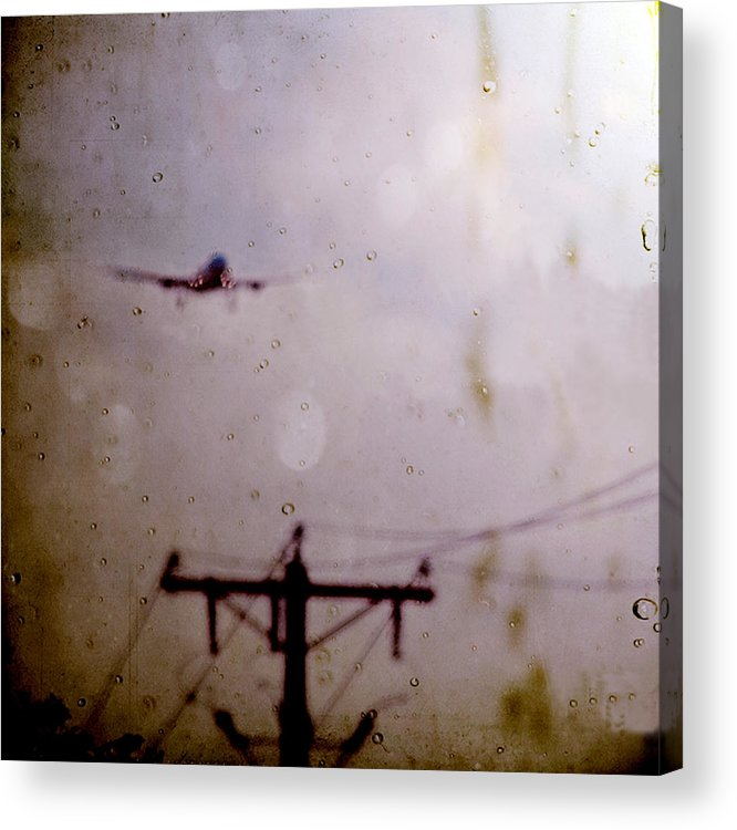 Texture Acrylic Print featuring the photograph Drifting Into Daydreams by Trish Mistric