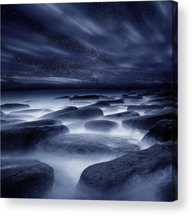 Night Acrylic Print featuring the photograph Morpheus Kingdom by Jorge Maia
