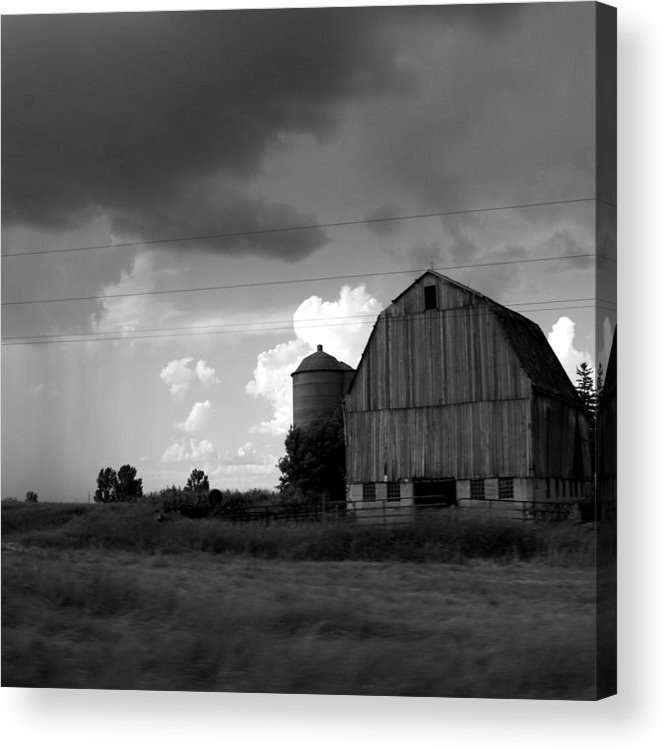 Barn Acrylic Print featuring the photograph 08016 by Jeffrey Freund