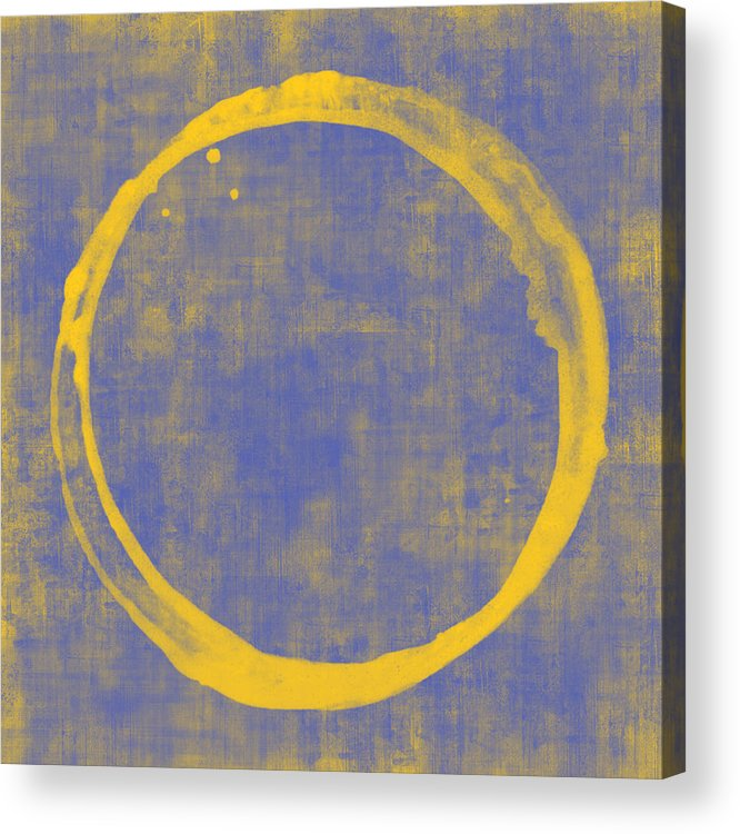 Circle Acrylic Print featuring the painting Enso 1 by Julie Niemela