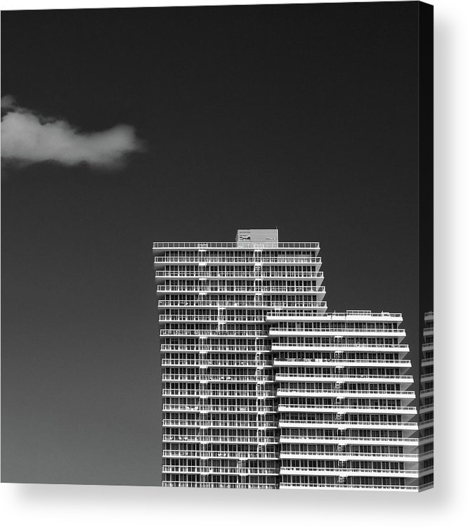 Architecture Acrylic Print featuring the photograph Three Steps To Heaven by Dave Bowman
