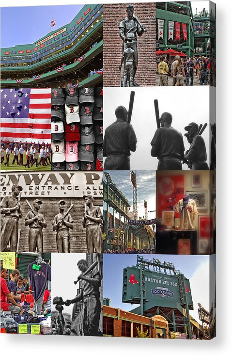 Boston Red Sox Acrylic Print featuring the photograph Fenway Memories by Joann Vitali