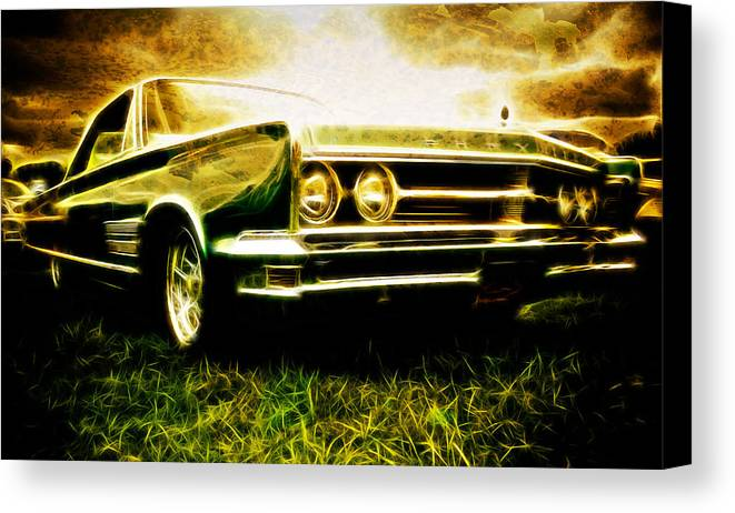 Chrysler 300 Canvas Print featuring the photograph 1966 Chrysler 300 by Phil 'motography' Clark