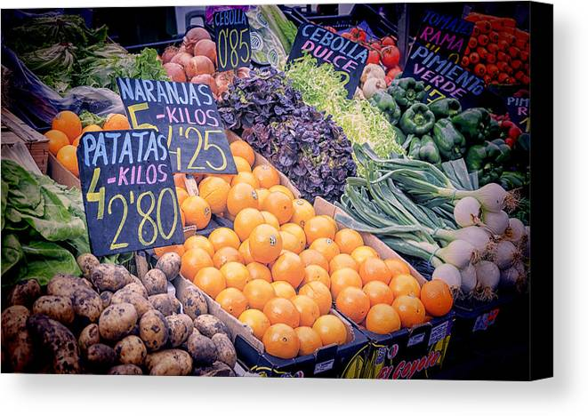 Agricultural Canvas Print featuring the photograph Wonderful In Any Language by Joan Carroll