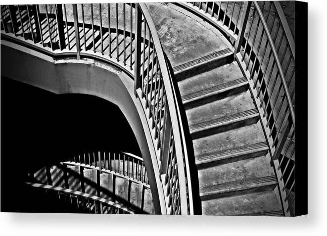 Abstracts Canvas Print featuring the photograph Visions Of Escher by Steven Milner