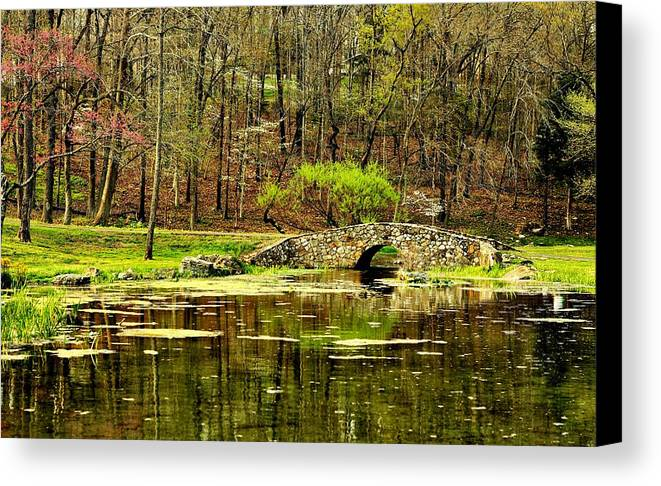 Arkansas Canvas Print featuring the photograph Arkansas Tranquility by Benjamin Yeager