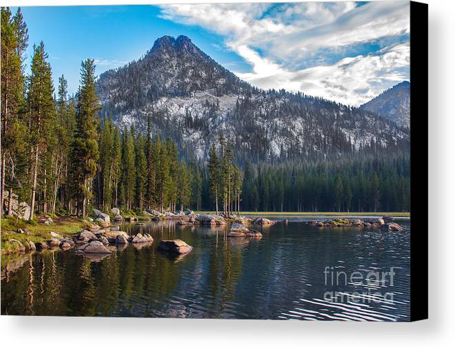 Anthony Lake Canvas Print featuring the photograph Alpine Beauty by Robert Bales