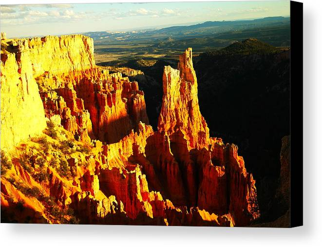 Southwestern Art Canvas Print featuring the photograph An October View by Jeff Swan