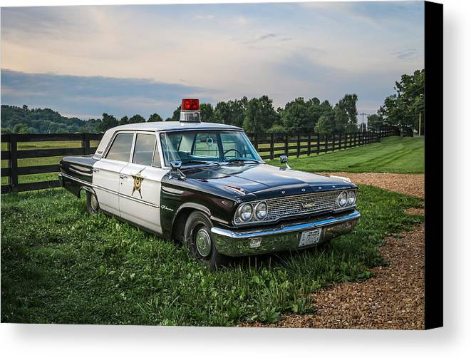 Car Canvas Print featuring the photograph Andy's Car by EG Kight