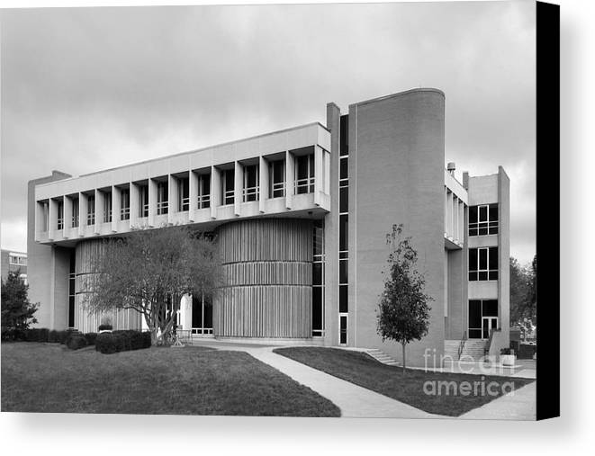 American Canvas Print featuring the photograph Bowling Green State University Math And Science by University Icons