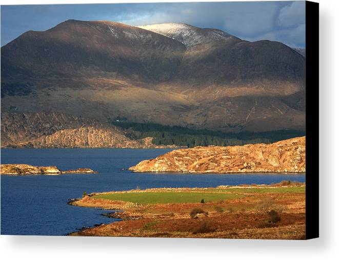 Ireland Canvas Print featuring the photograph Farewell To Winter by Aidan Moran