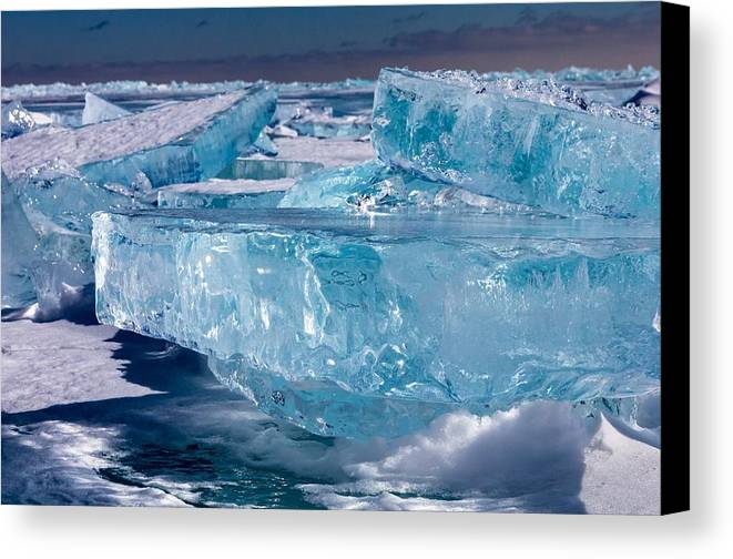 Lake Superior Canvas Print featuring the photograph Jewels Of Superior by Mary Amerman