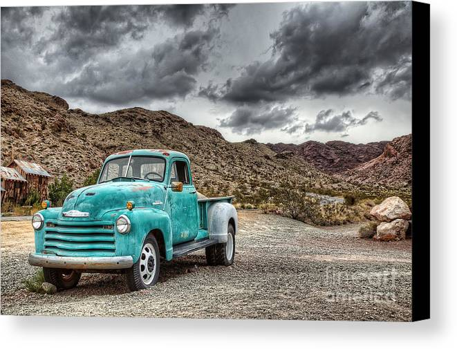 Old Canvas Print featuring the photograph Old Reliable by Eddie Yerkish