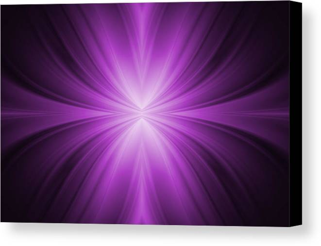 Abstract Canvas Print featuring the tapestry - textile Purple Abstract Background by Somkiet Chanumporn